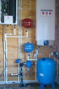 Водоснабжение дома + эл. котёл отопления