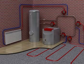 Отопление на даче и в частном доме